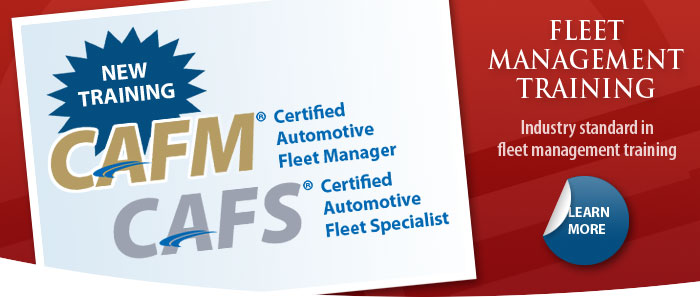 Certified Automotive Fleet Manager Specialist Training